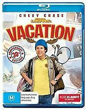 National Lampoons Vacation Blu Ray - New & Sealed Chevy Chase,30Th Ann Free Post