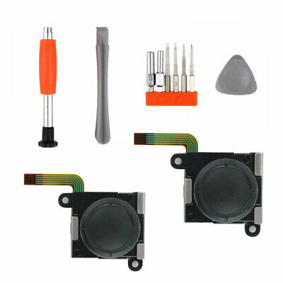 3D Stick Rocker Analog Joystick Thumb Screwdriver Kit For Switch NS Joy-Con