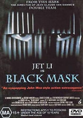 Black Mask - Jet Li - NEW DVD - Region 4