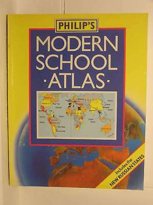 Philip's Modern School Atlas (World Atlas), Geographical Society, Royal, Excelle