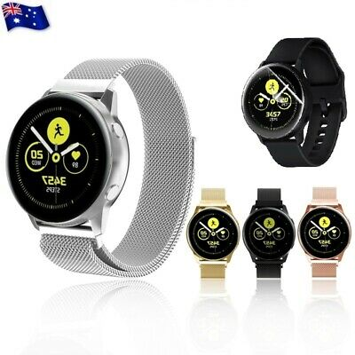 For Samsung Galaxy Watch Active 2 42/46mm Milanese Magnetic Stainless Steel Band