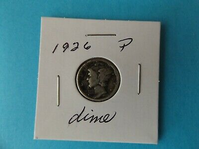 1926 P Mercury Dime --- 93 Years Old --- 90% Silver