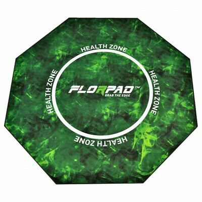 FlorPad Health Zone Gamer-/eSports Protective Floor Mat - Green Soft Core
