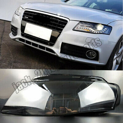 AUDI A4 B8 09-12 Left and Right Front Kit Cover Lens 2pcs