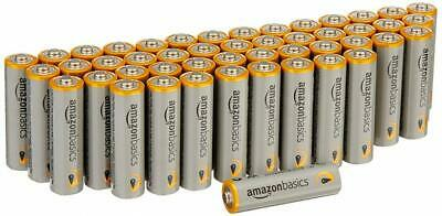 AmazonBasics AA Performance Alkaline Batteries (48 Count) - Packaging May...