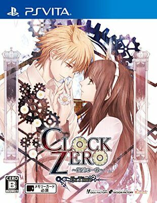 USED PS Vita One second of CLOCK ZERO ~ demise ~ ExTime Japan