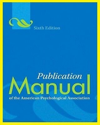 Publication Manual of the American Psychological Association 6th ed-EB00K (PDF)