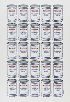 Banksy Soup Can Lithograph Print Poster Plate Signed Cans POW Pictures On Walls