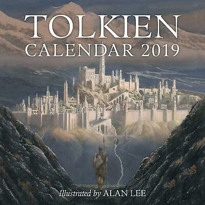 Tolkien Calendar 2019 Wall Watercolour Paintings Middle Earth Artist Calender