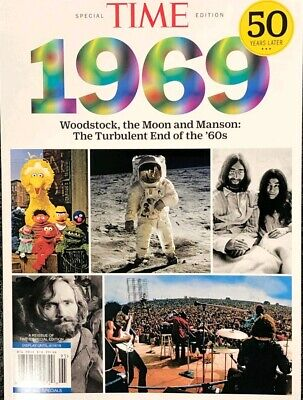2019 TIME MAGAZINE SPECIAL 1969 CHARLES MANSON , WOODSTOCK life