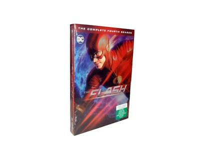 The Flash: The Complete Fourth Season 4 (DVD, 2018, 5-Disc Set)