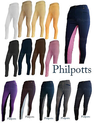 Ladies Womens Horse Riding Jodhpurs / Jodphurs. Plain, Two Tone, Checked