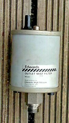 Edwards Outlet Mist Filter Mf 20 For Vacuum Pumps