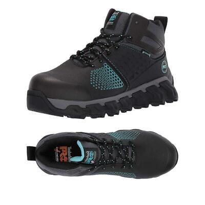 3349cd645c6 TIMBERLAND WOMEN BOOTS Powertrain Sport Soft Toe Sd+ Shoes Black ...