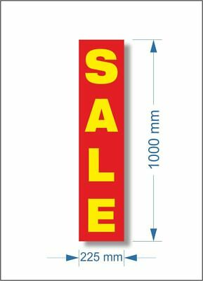 3 x SHOP SALE POSTER, Window Banner Poster
