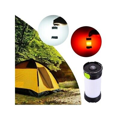 5W Portable LED USB Rechargeable Dimmable Camping Light Lantern IPX4 Waterproof