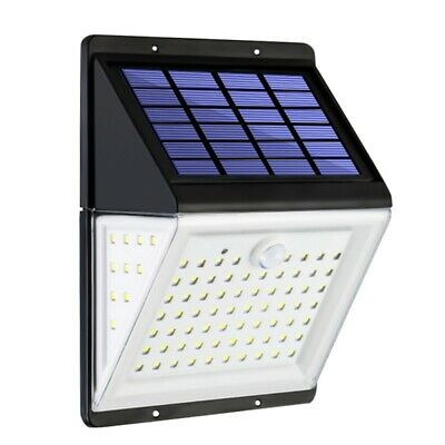 88 LED Solar Power Light PIR Motion Sensor Garden Security Outdoor Yard Wall Lam