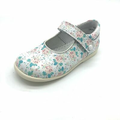 Start-rite Nancy Girls' Shoes Pink Floral Leather 50% OFF RRP