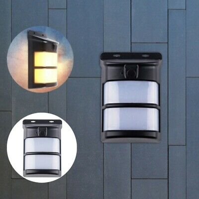 Solar Powered 75 LED Flame Effect Light-controlled Wall Light Waterproof for Out