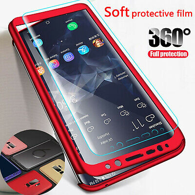 For Samsung Galaxy Note 9 S9 Plus S9 Case Luxury Ultra Slim 360 Anti-Shock Cover