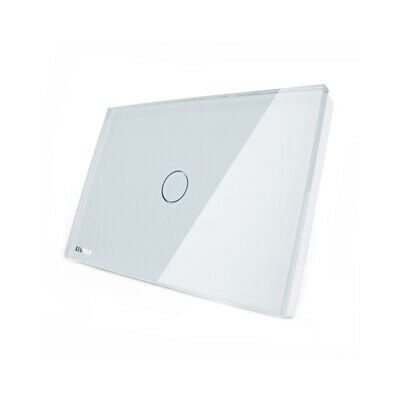 Livolo White Crystal Glass Touch Screen Switch VL-C301-81 AC110-250V