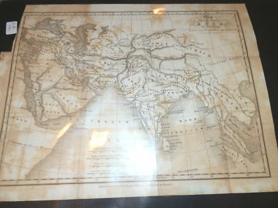 #9065,Map,South West Asia 1791,for Illustrating