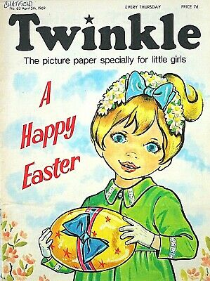 TWINKLE - EASTER !! 5th APRIL 1969 (3 - 9 April) RARE 50th BIRTHDAY GIFT !! VG+