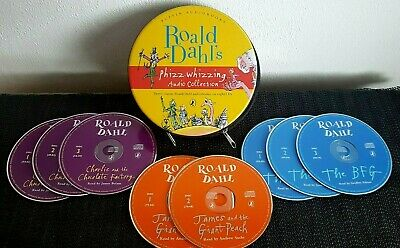 Roald Dahl Puffin Audio Books (3 Books On 8 CDs) Phizz-Whizzing Audio Collection