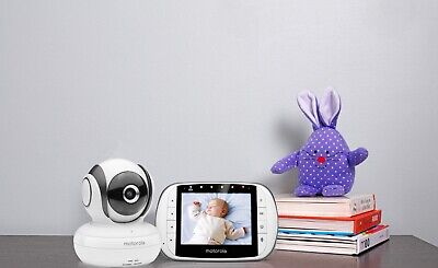 "Motorola MBP36SC Video Baby Monitor Digital Camera with 3.5"" screen"
