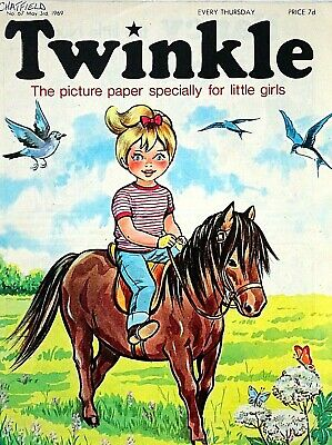 TWINKLE - 3rd MAY 1969 (1 - 7 May) - RARE 50th BIRTHDAY GIFT !! FINE bunty mandy
