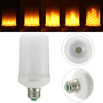 ARILUX E27 4W SMD2835 1595K Two Modes Warm White 99LEDs Flicker Flame Corn Light