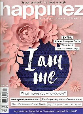 Happinez Issue 14 2018 (What Makes You Who You Are?) Includes 7 Compass Cards