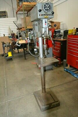 Drill Press    CLAUSING 15-INCH DRILL PRESS  VARIABLE SPEED JACOBS CHUCK
