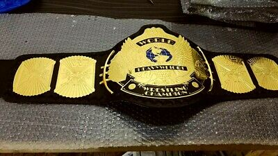 WWF World Heavyweight winged Eagle Wrestling Championship Adult Replica Belt4mm