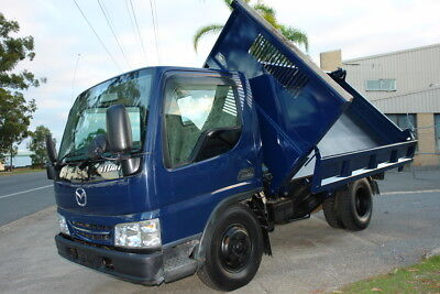 2003 Wh6H Mazda Titan 3 Way Tipper With 3 Ton Payload 4.6 Litre Diesel Engine. L