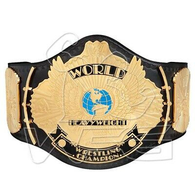 WWF World Heavyweight Wrestling Championship Adult Replica Belt 4mm Version