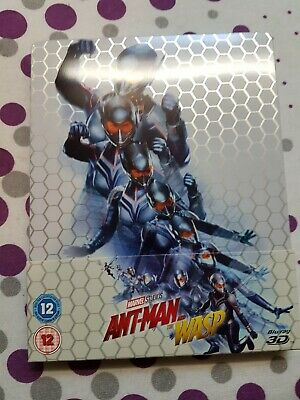 Ant-Man and the Wasp 3D Blu ray Steelbook UK Release New and Sealed