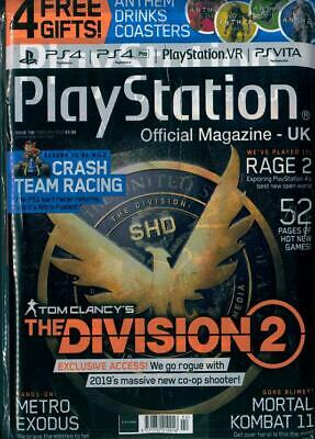 PLAYSTATION OFFICIAL MAGAZINE Issue 158 NEW SEALED FREE GIFTS INSIDE