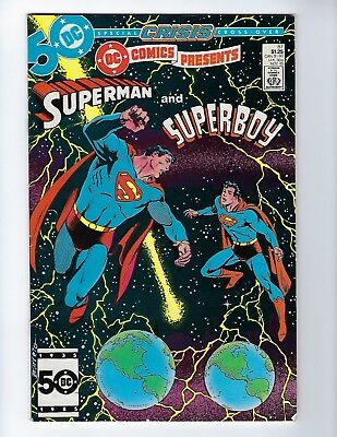 DC COMICS PRESENTS # 87 (Superman & 1st app Superboy Prime, NOV 1985), VF-