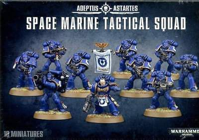 Warhammer 40000-Space marines-Esc tactique-Paquetages lot 3