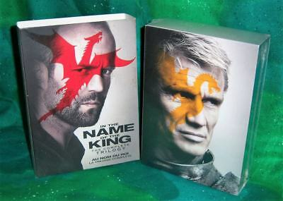 New Rare Oop As Is In The Name Of The King Complete Trilogy Movie Dvd Box Set