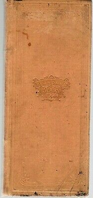 CONNECTICUT WOMAN'S DIARY OF HANDWRITTEN ENTRIES JANUARY 11 SEPTEMBER 12 1st ed