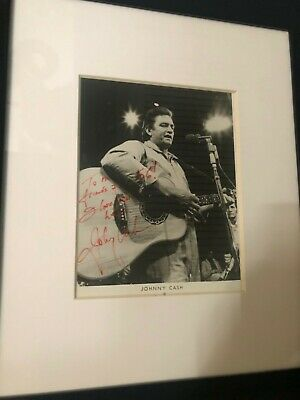 johnny cash autograph Authentic With COA when I purchased it!