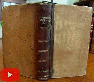 Ovid 1781-3 Chevalier de Boufflers 18th century book 2 works bound together