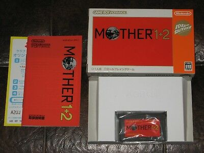Mother 1 & 2 - Game Boy Advance GBA JP Japan Import I And II Nintendo Earthbound