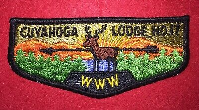 Boy Scouts Order of the Arrow OA Cuyahoga Lodge 17 S2 Flap