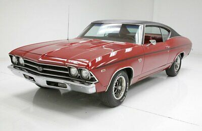 1969 Chevrolet Chevelle Coupe Numbers matching 396ci Big Block Automatic Red over Red Very Clean