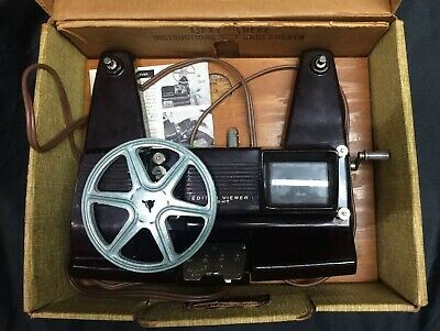 Vintage KALART Editor Viewer Eight Model EV-8 DS 8mm Film, w/ Instructions