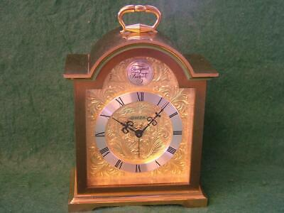 Superb Vintage Large Size SWIZA 8 Day alarm / Carriage clock