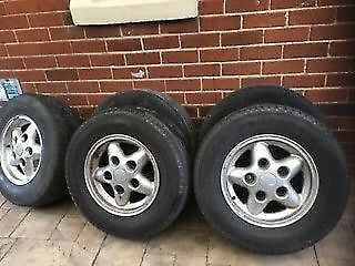 land rover Discovery 1 Tyres and Wheels X5